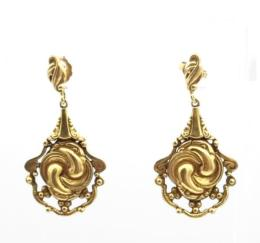 Yellow Gold Earring