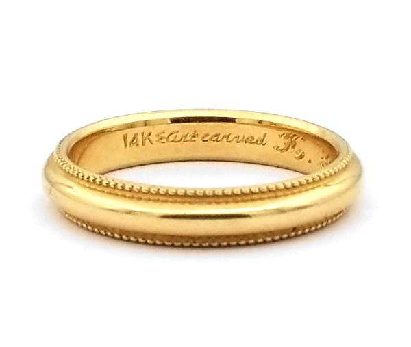 Yellow Gold Men's Wedding Bands
