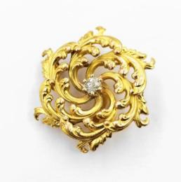 Yellow Gold Pin