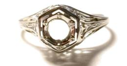 White Gold Women's Mountings