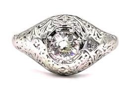 Platinum Ring  -  Women's