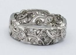 Platinum Women's Wedding Bands